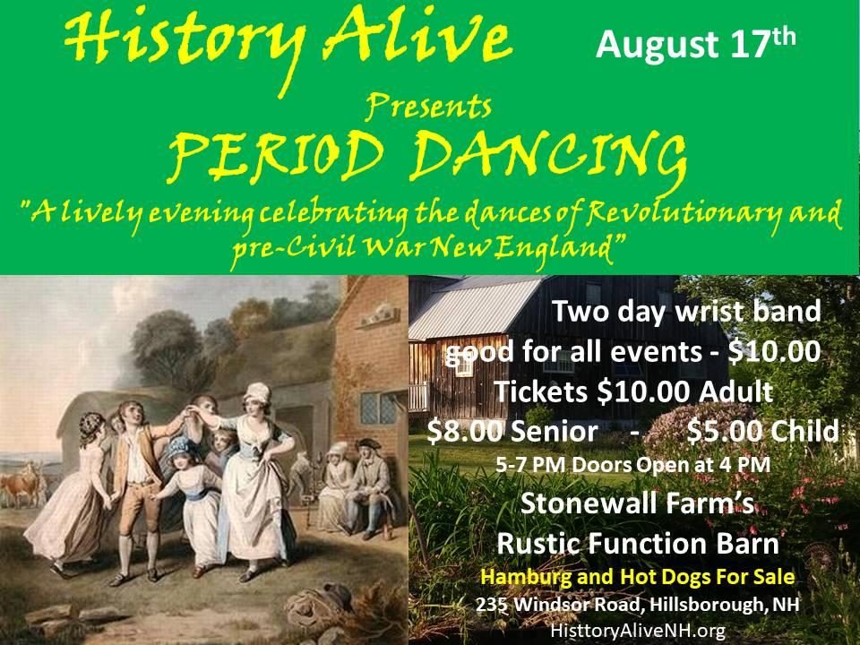 Period Dancing